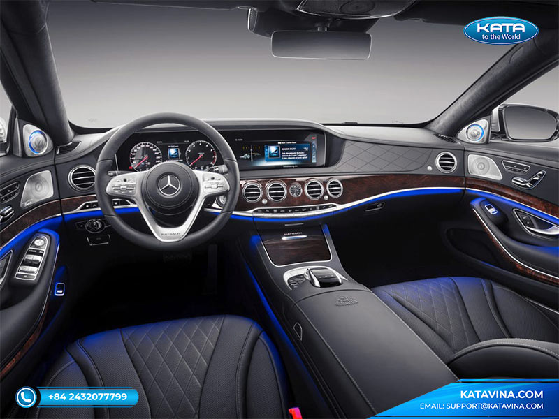 Nội thất Mercedes-Maybach S 450