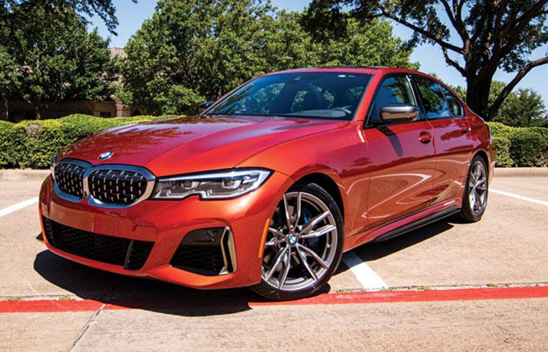 dự án lắp đặt camera hành trình 4k cho BMW 3 series