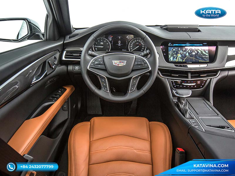 nội thất Cadillac CT6 2017