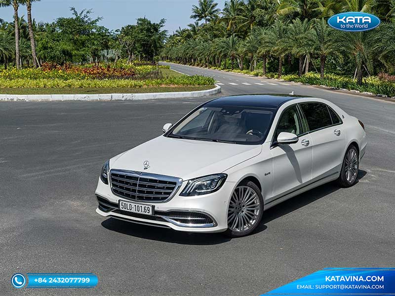 Mercedes Maybach S 450 2018