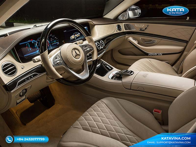 Mercedes Maybach S 450 nội thất