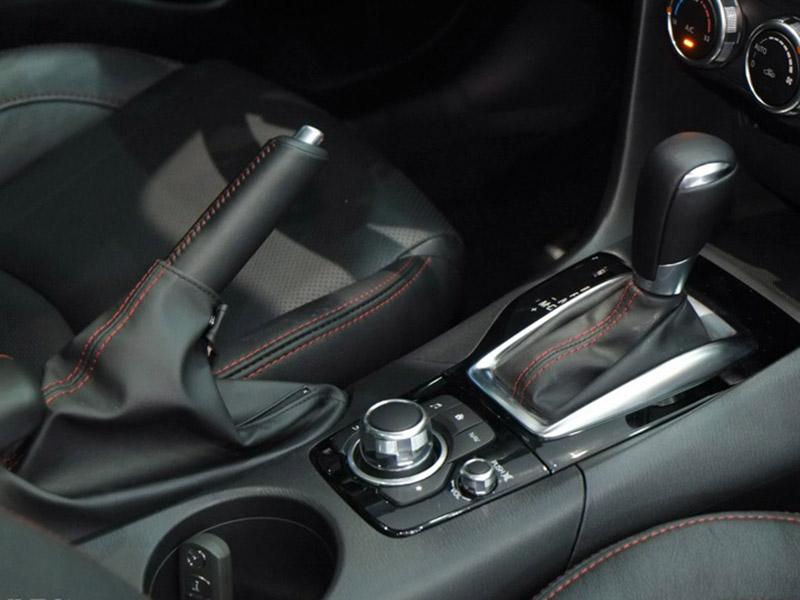 Thiết kế phanh tay của Mazda 6