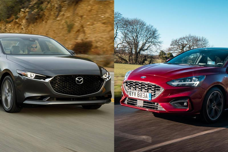 Mazda 3 vs Ford Focus 2019