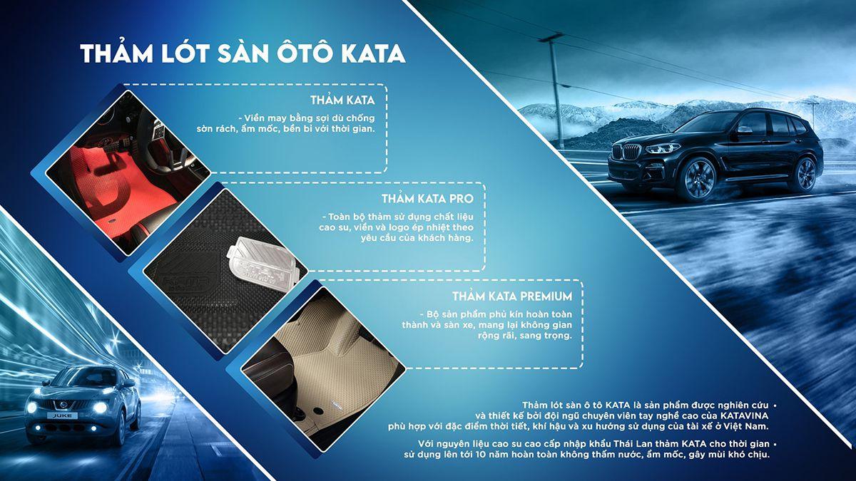 ưu điểm của thảm lót sàn ô tô kata